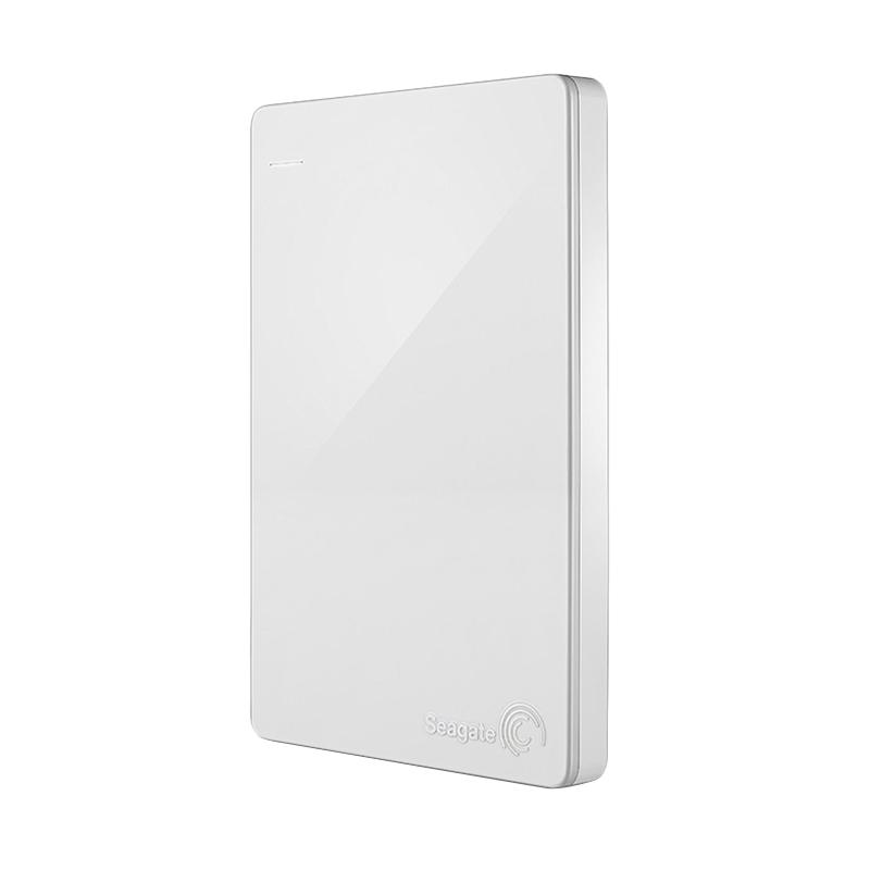harga Seagate Backup Plus Slim Hard Disk Eksternal - Putih [2 TB/2.5 Inch/USB 3.0] + Pouch + Internet Security Blibli.com