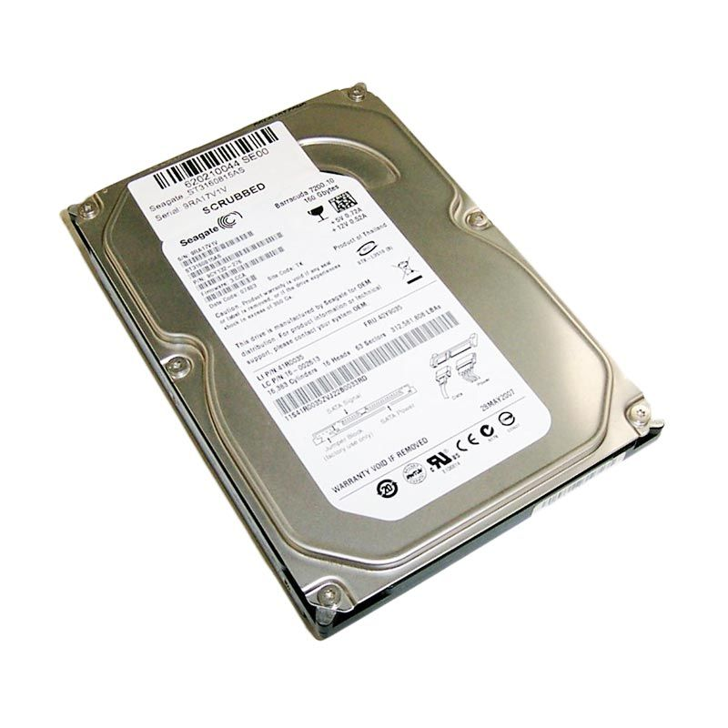 harga Seagate Barracuda Hard Disk Internal [160 GB/3.5 Inch/SATA] Blibli.com