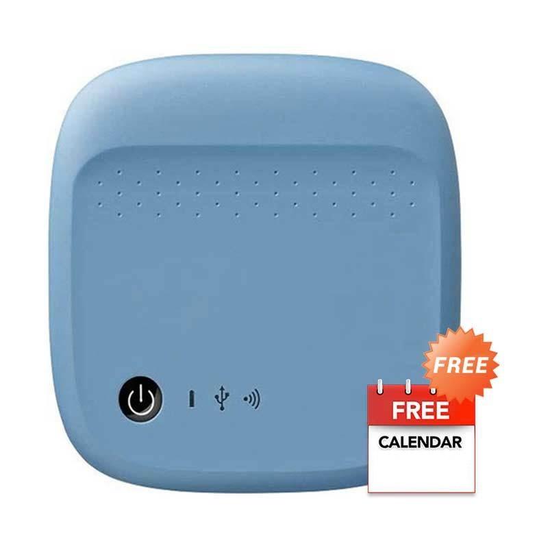 Seagate Wireless Biru Harddisk Eksternal [500 GB] + Kalender