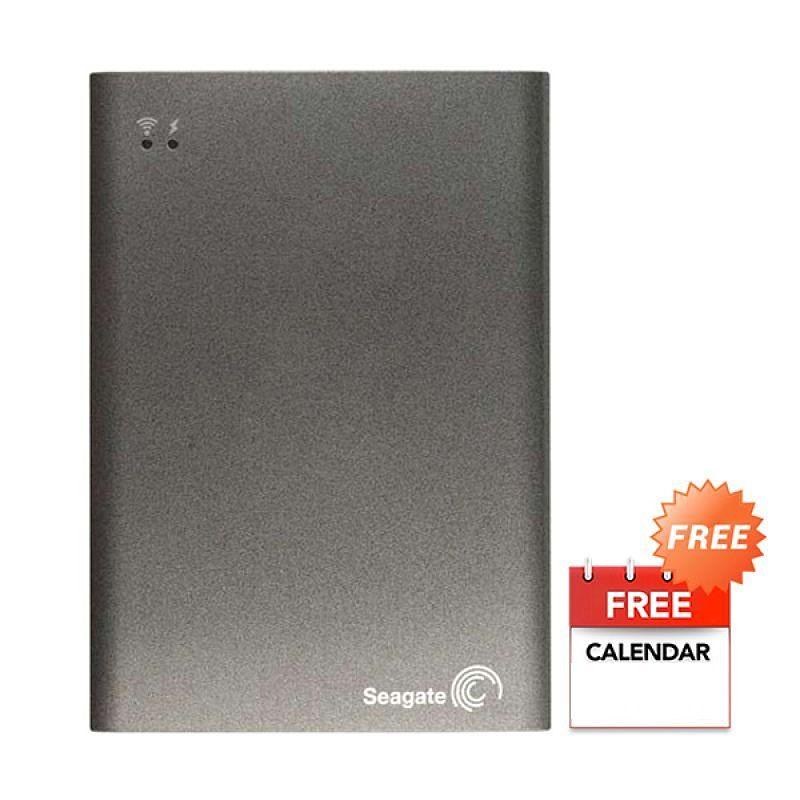 harga Seagate Wireless Plus Silver Hardisk Eksternal [2TB]+ Voucher Careffour + Kalender Blibli.com