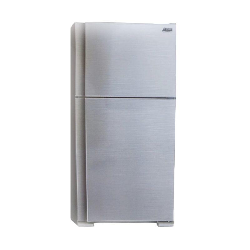 Mitsubishi Electric MR-F51H-HS 454L Top Freezer Kulkas [2 Pintu]
