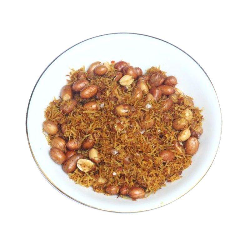 Selera Pedas Bu Majun Saur Kacang Makanan Instan
