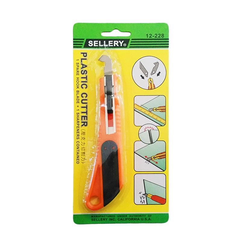 harga Sellery 12-228 Plastic Cutter Pisau Potong Acrylic Blibli.com