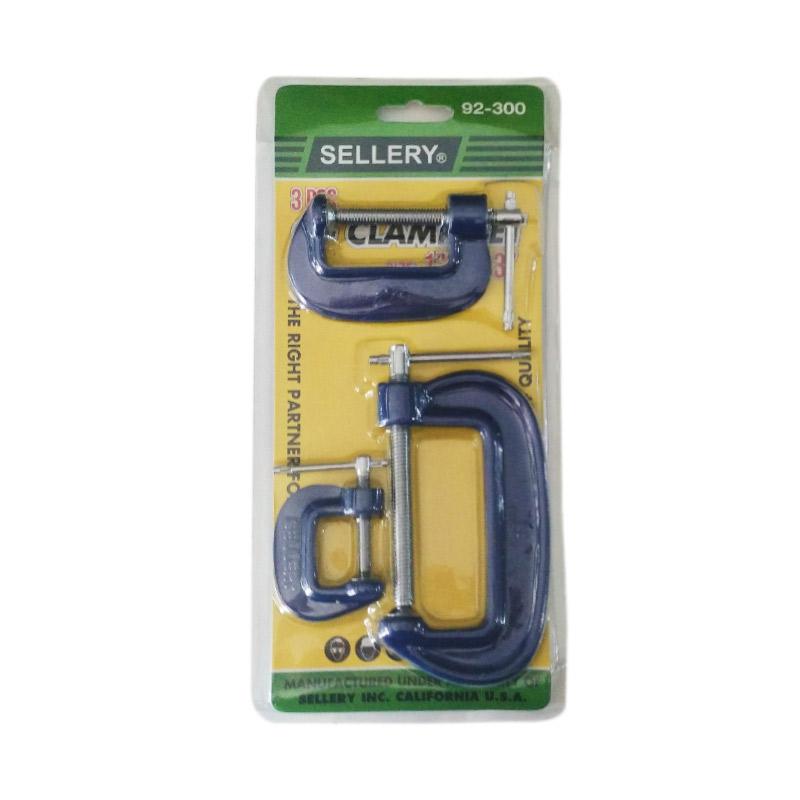Sellery 92-300 C Clamp - Klem C Set [3 pcs]