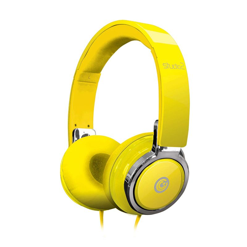 Sonicgear Earpump Studio 2 Yellow Headset