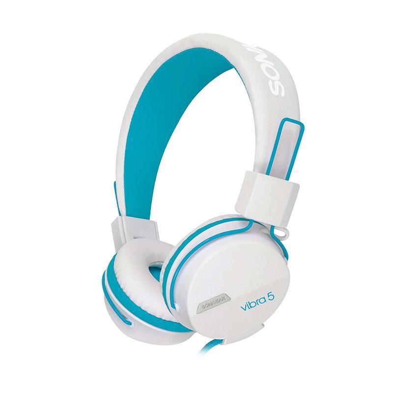 Sonicgear Vibra 5 Biru Gaming Headset