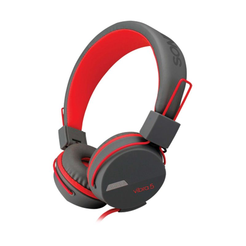 Sonicgear Vibra 5 Merah Gaming Headset