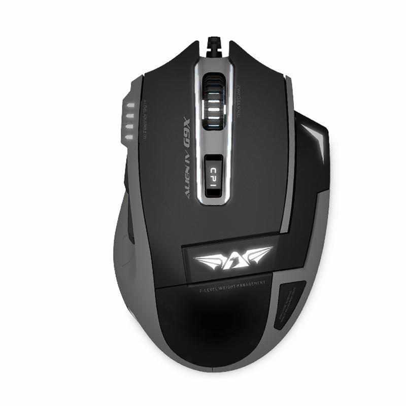 Armaggeddon Gaming Mouse Alien Craft III G9X Black