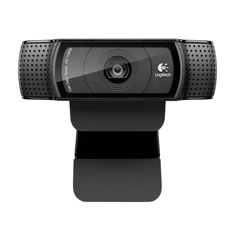 Logitech C920 HD Pro 960-000770 Webcam [Carl Zeiss Lens]