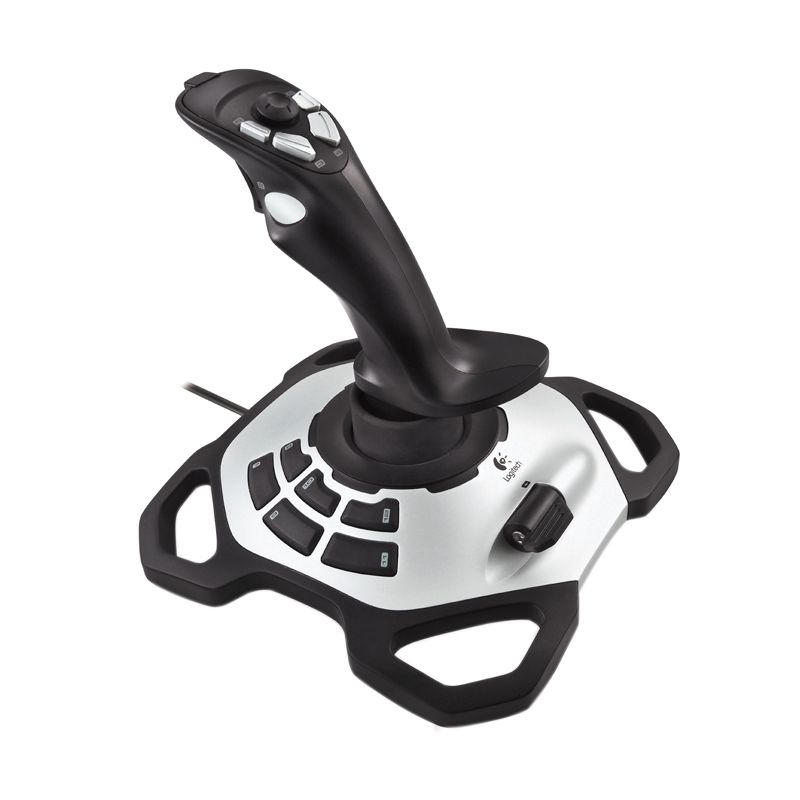 Logitech Extreme 3D Pro 942-000008 Black Joystick