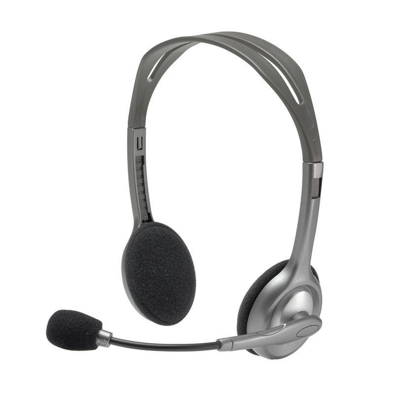 Logitech H110 Black Stereo Headset