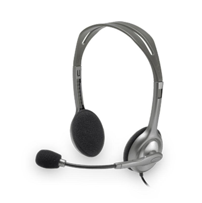Logitech H111 Hitam Stereo Headset