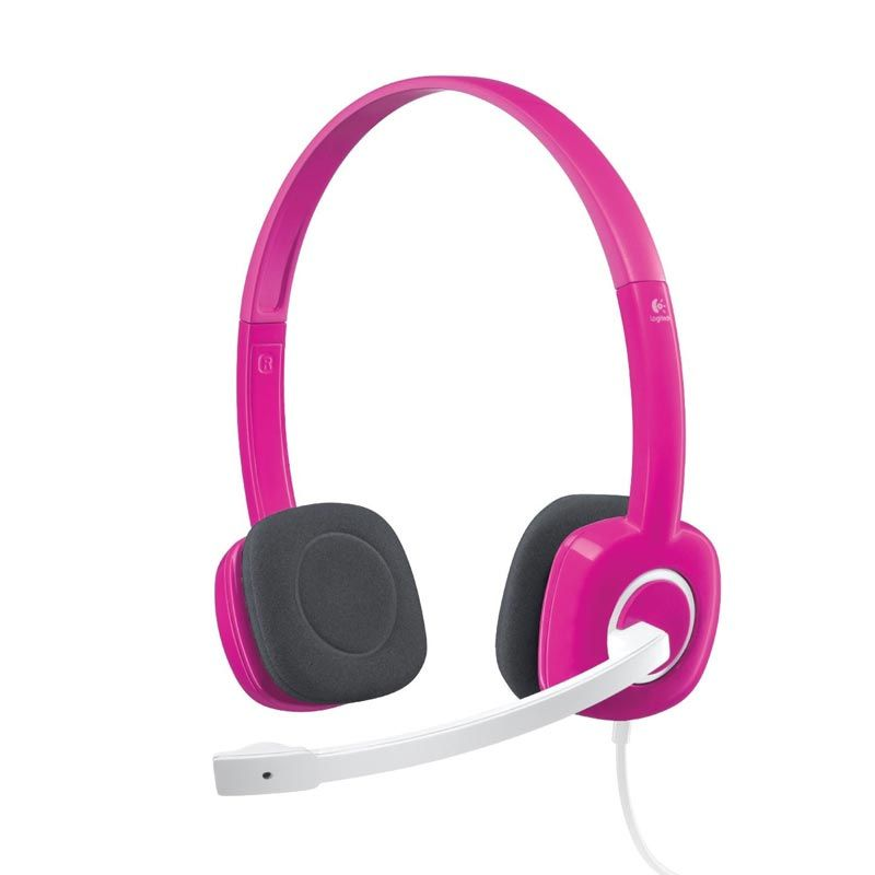 Logitech Fuchsia H150 Pink Headset