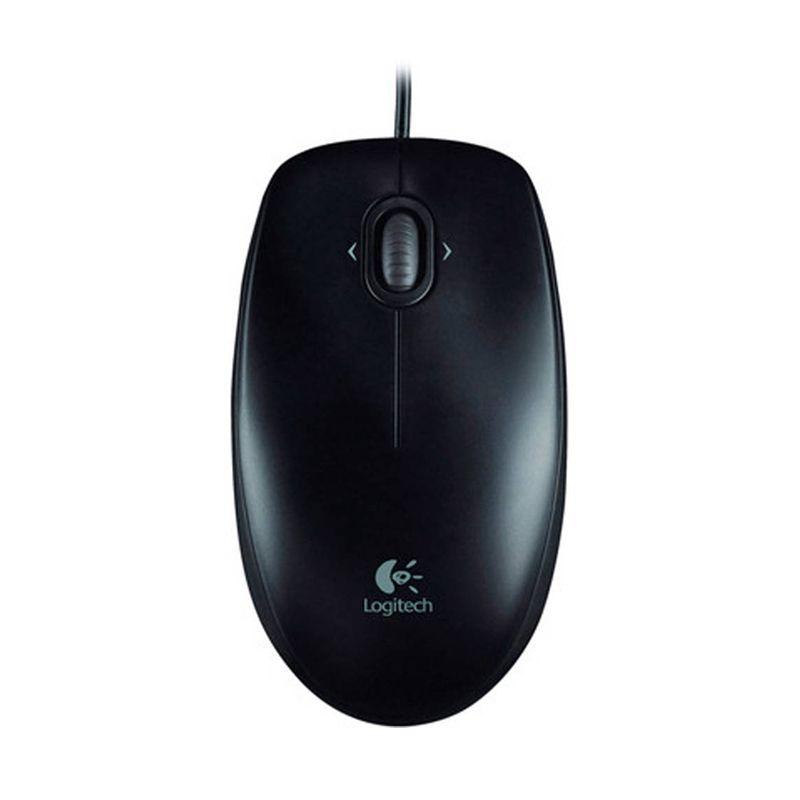 Logitech M100r 910-003301 Black Mouse