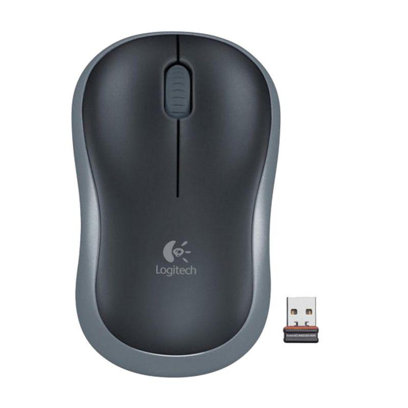 Logitech Wireless M185 910-002255 Black Mouse