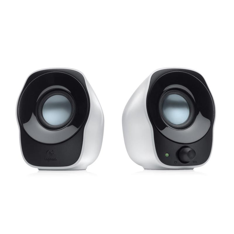Logitech Z120 2.0 White Speaker