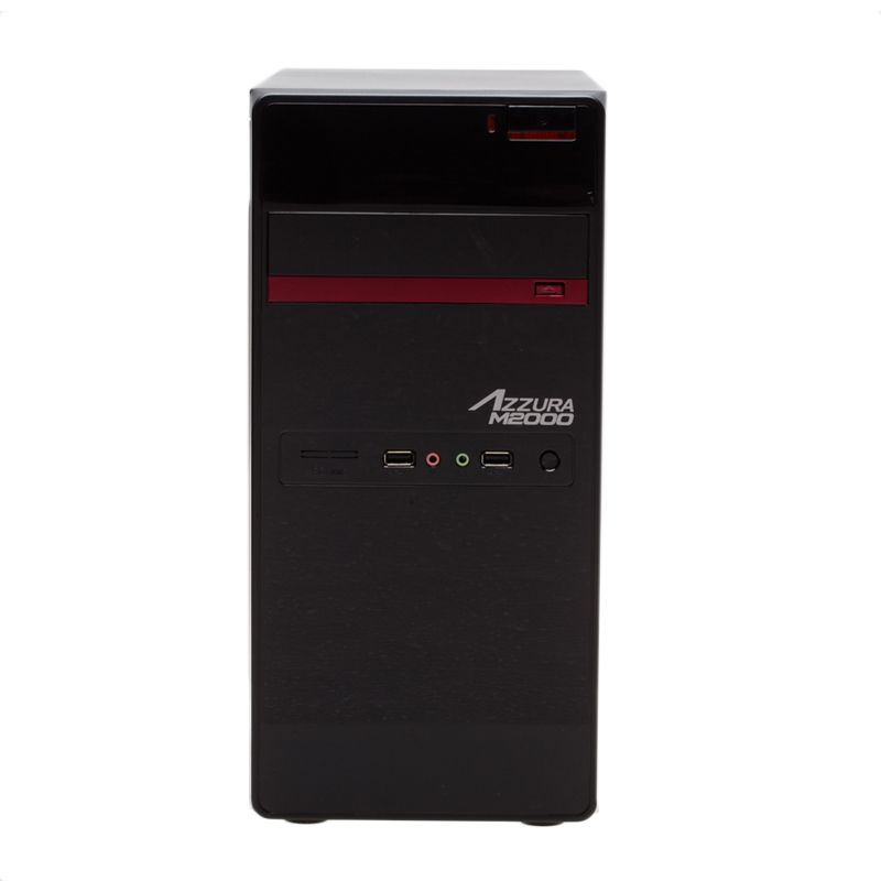 Powerlogic Azzura M2000 Casing Komputer [PSU 450Watt]