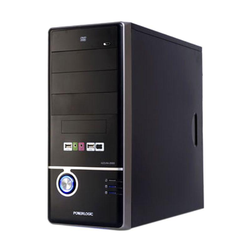 Powerlogic Azzura M2000 Hitam Casing Komputer