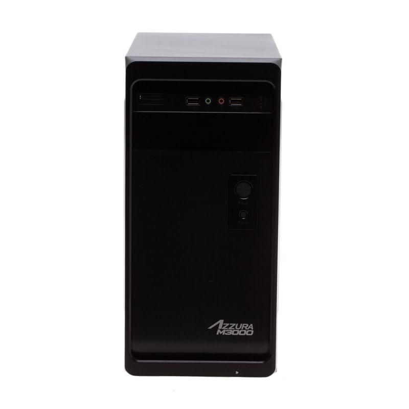 Powerlogic Azzura M3000 Casing Komputer [PSU 450Watt]