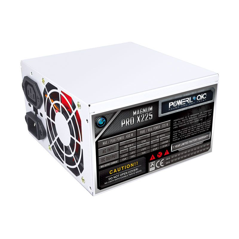 Powerlogic Magnum Pro 225X Putih Power Supply