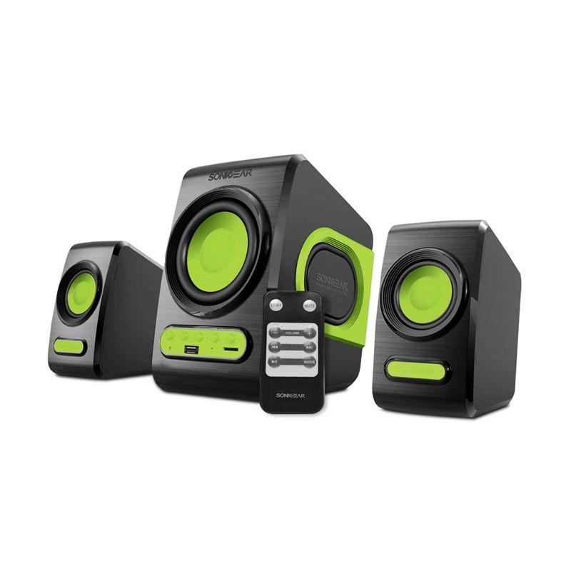Sonicgear 2.1 Quatro V Green Speaker