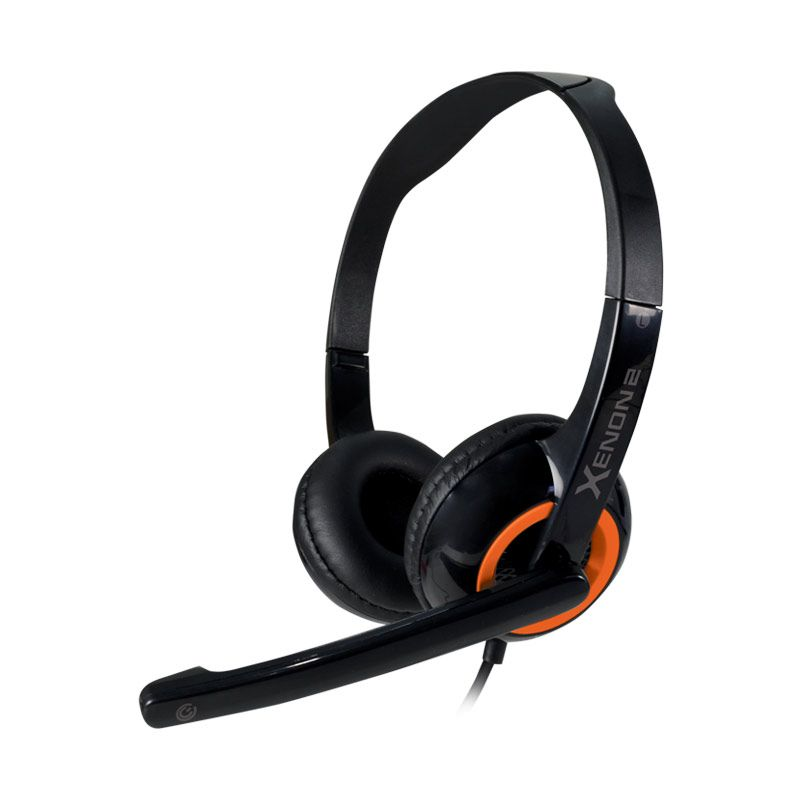 Sonicgear Headset Xenon 2 - Sunny Orange