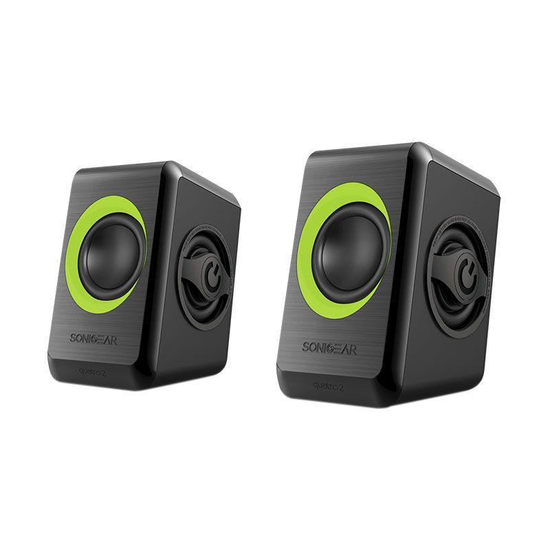 Sonicgear Speaker 2.0 Quatro 2 Lime Green