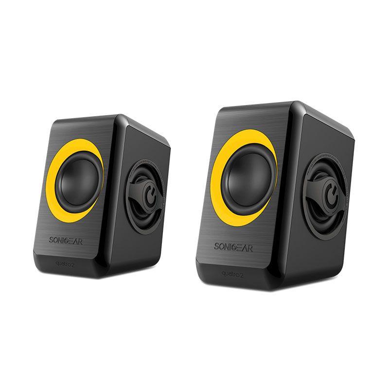 Sonicgear Speaker 2.0 Quatro 2 Sunny Orange