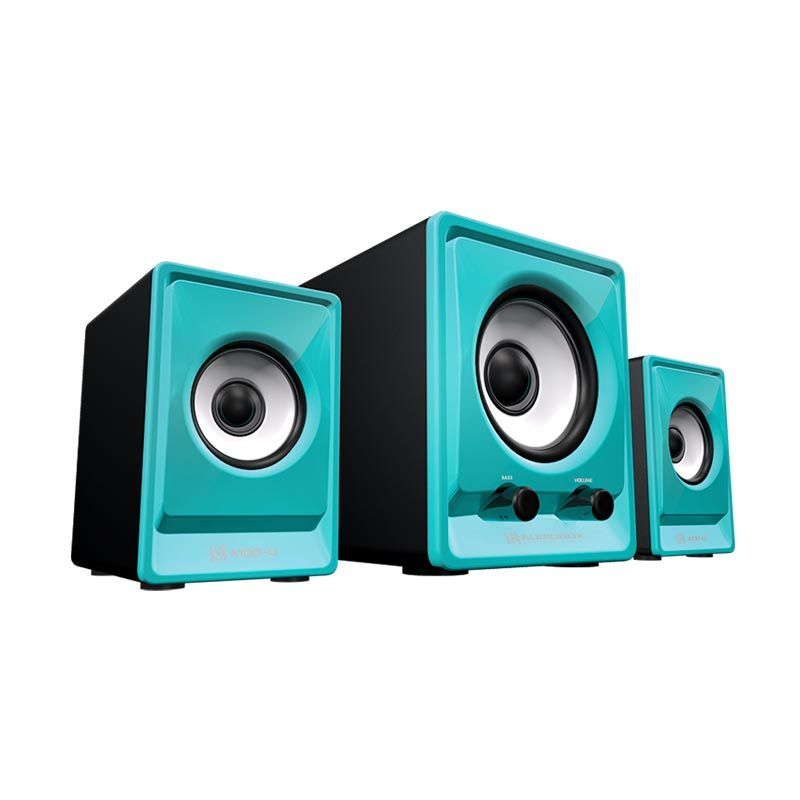 Sonicgear Speaker 2.1 AudioBox A100-U Biru