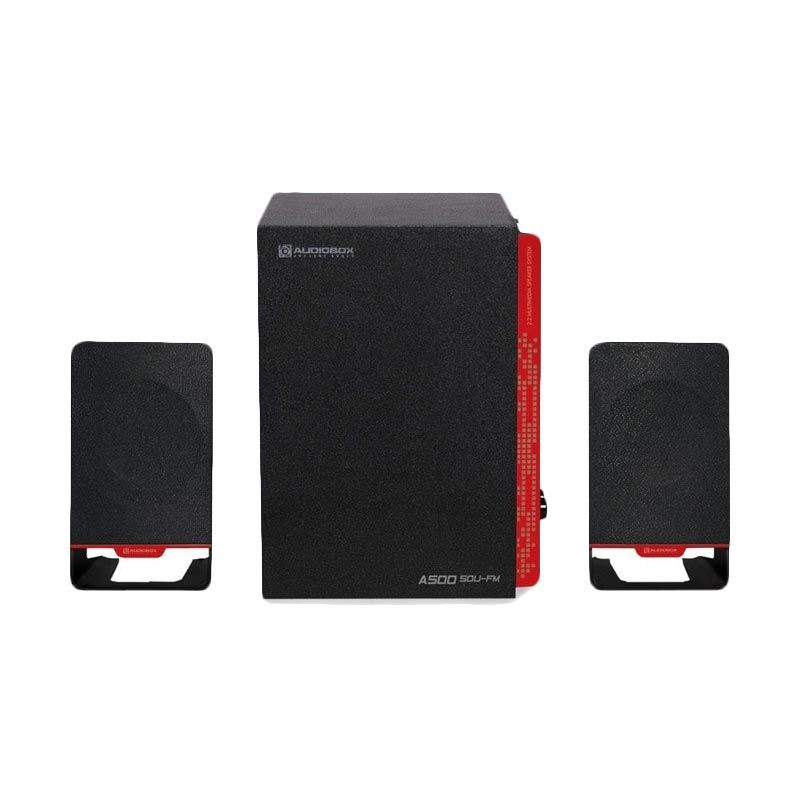 Sonicgear Speaker 2.1 AudioBox A500-SDU [USB] Merah