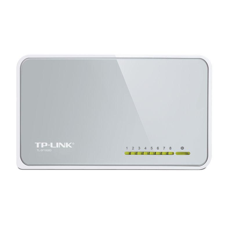 TP-Link 8-Port 10/100Mbps TL-SF1008D Desktop Switch