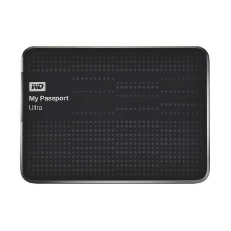 WD My Passport Ultra 1TB USB 3.0 [WDBZFP0010BBK-PESN] - Black