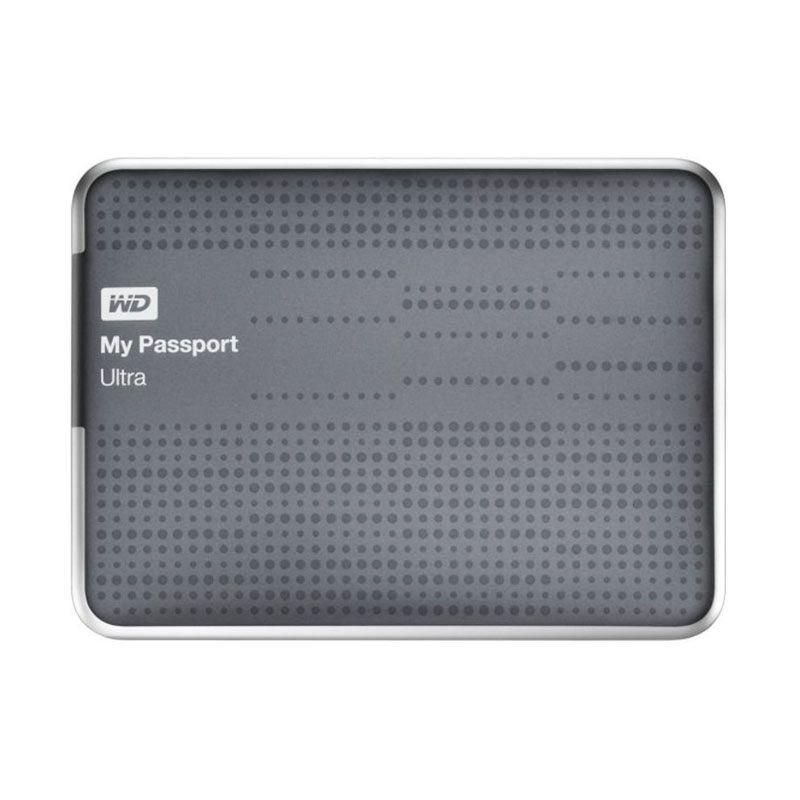 WD My Passport Ultra 1TB USB 3.0 [WDBZFP0010BTT-PESN] - Titanium