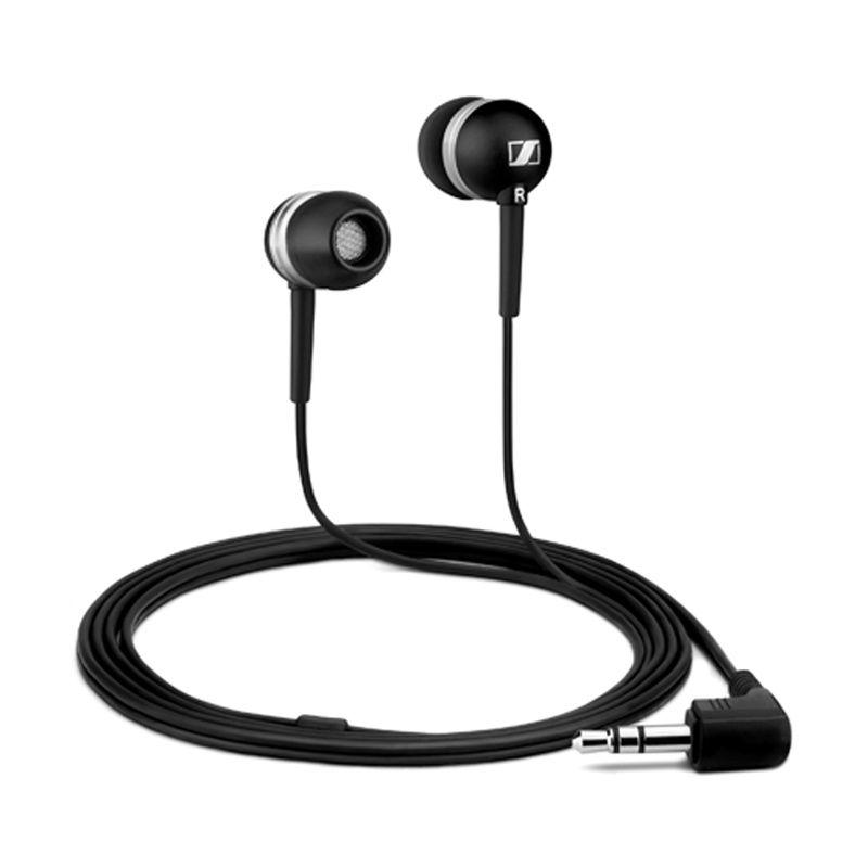harga Sennheiser CX 300-II Black Earphone Blibli.com