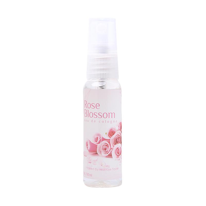 Senswell Eau De Cologne Relaxing Rose Blossom Body Spray Wanita [100 ML]