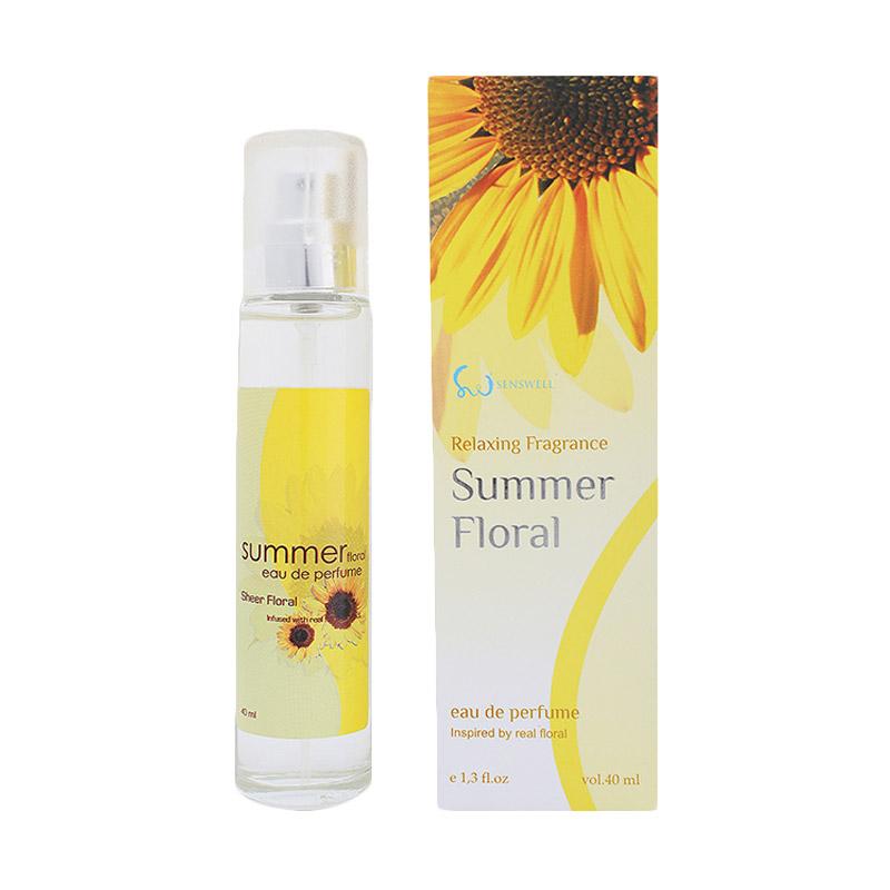 Senswell Eau De Relaxing Summer Floral Parfum EDP Wanita [40 ML]
