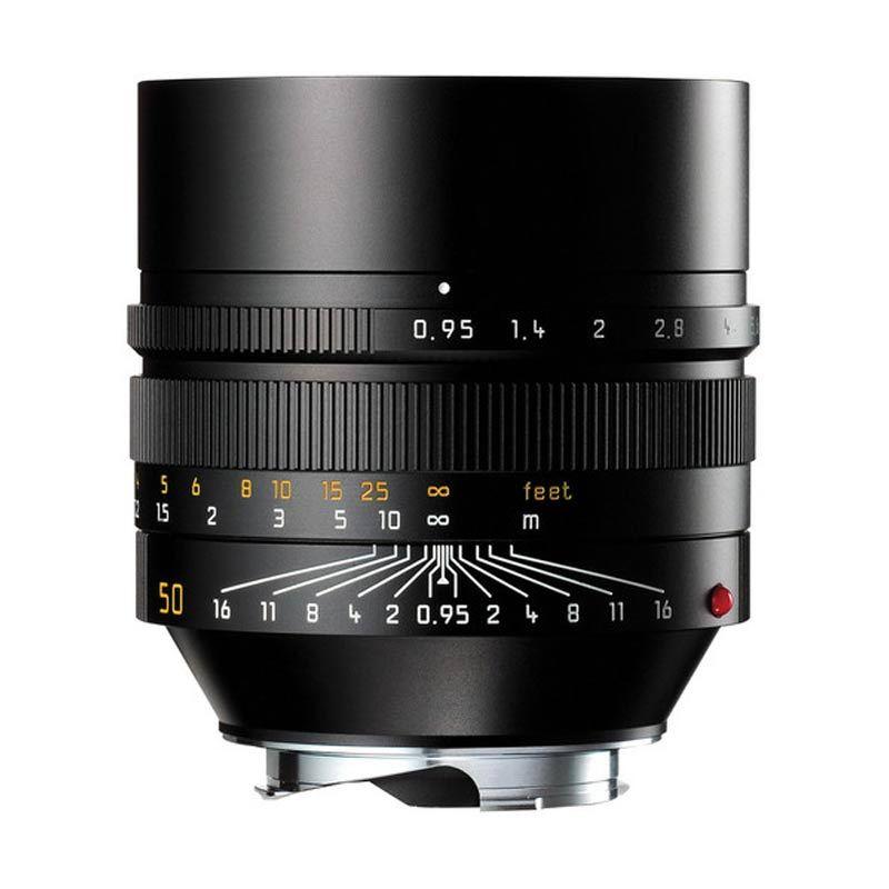 Leica Noctilux-M 50mm f/0.95 ASPH Lens Black