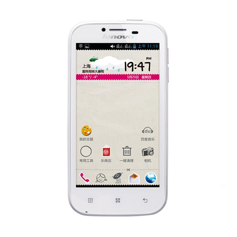 Lenovo A706 Putih Mutiara Smartphone