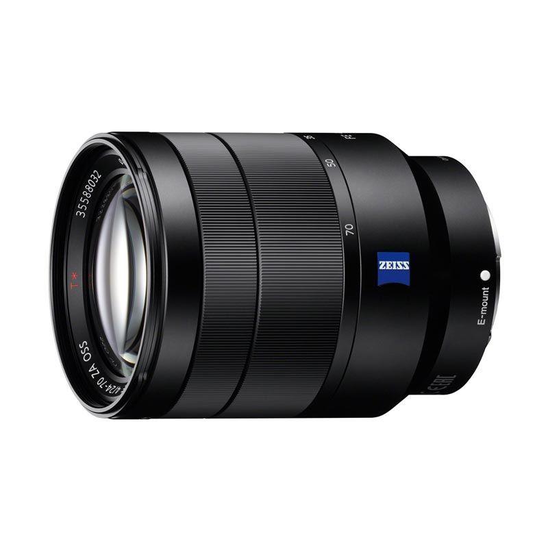 SONY Carl Zeiss Vario Tessar T* FE 24-70mm F4 ZA OSS Lensa Kamera