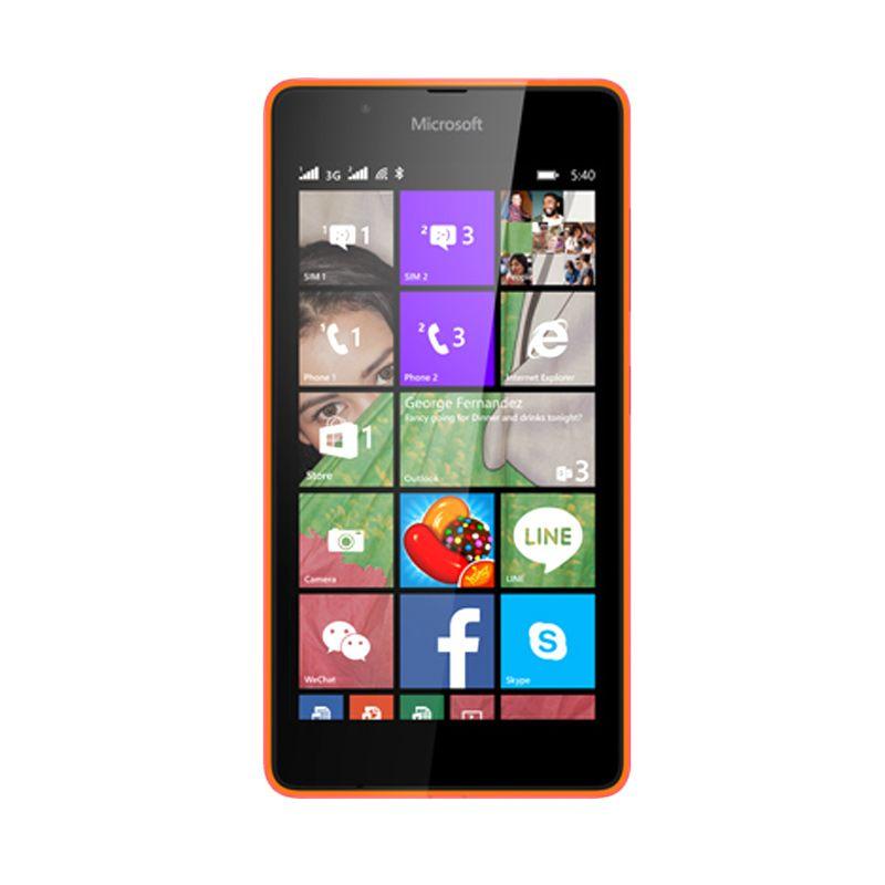 Microsoft Lumia 540 Orange Smartphone [8 GB or Dual SIM]