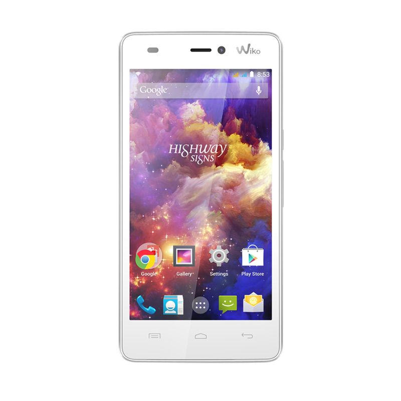 Wiko Highway Signs White Smartphone [8 GB/Dual Sim]