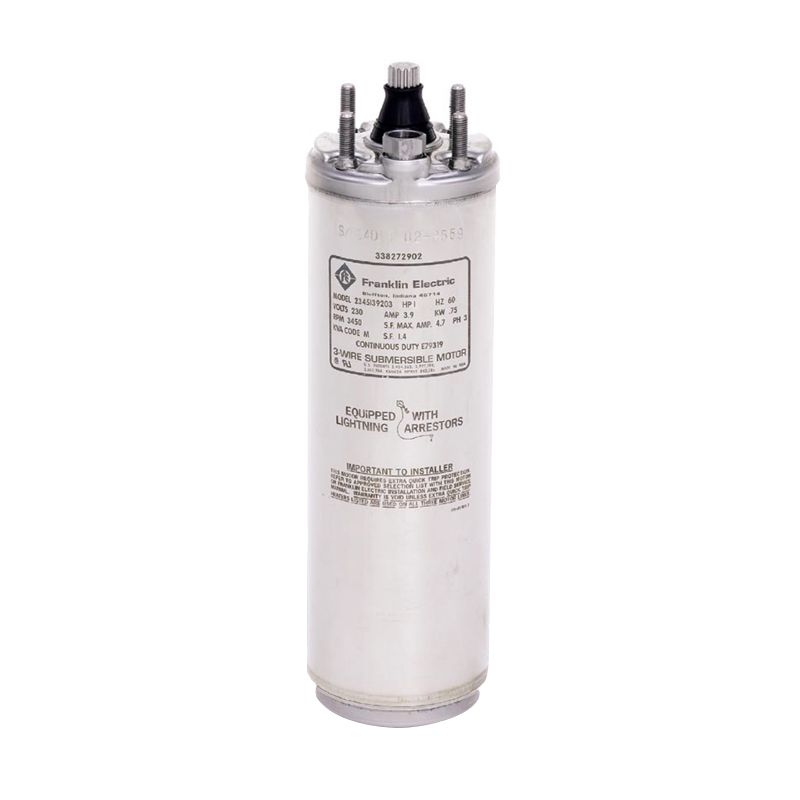 Franklin 4 1 Phase Submersible Motor Pompa Air [3/4 HP] + Control Box