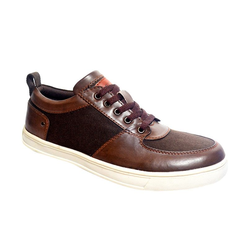Murdoock 1992 Rosenberg Sneakers Brown Sepatu Pria