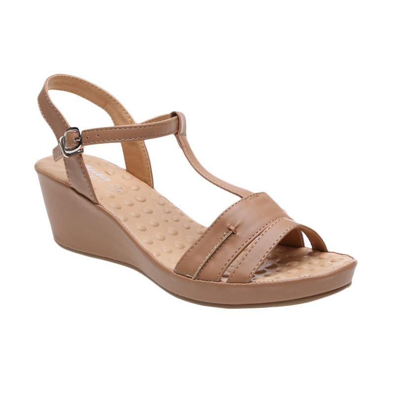 Bata Ladies Brooks 661-4219 Brown Sepatu Wanita