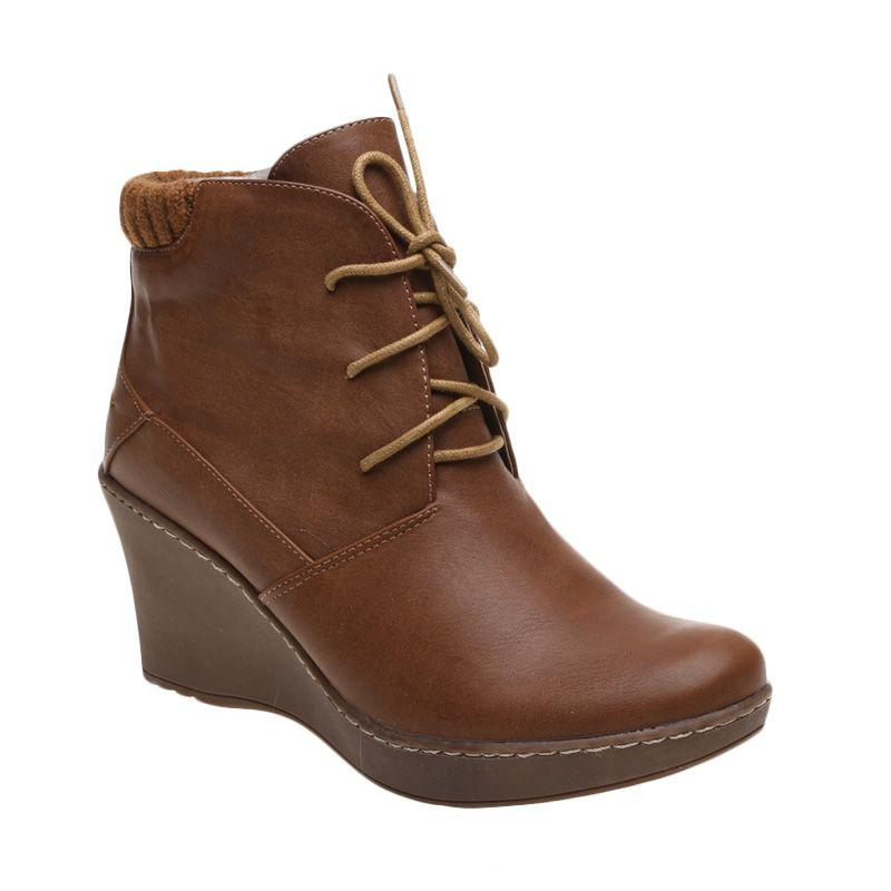 Bata Ladies Lenda 751-4412 Brown Sepatu Wanita