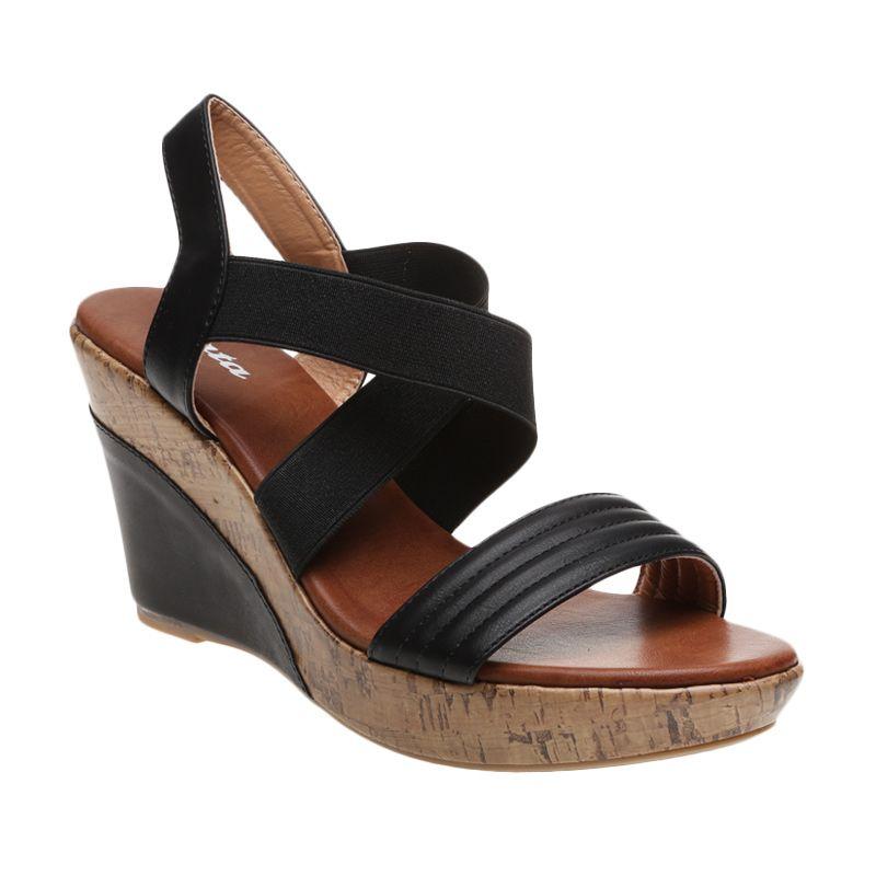 Bata Ladies Shalala 761-6340 Black Sepatu Wanita