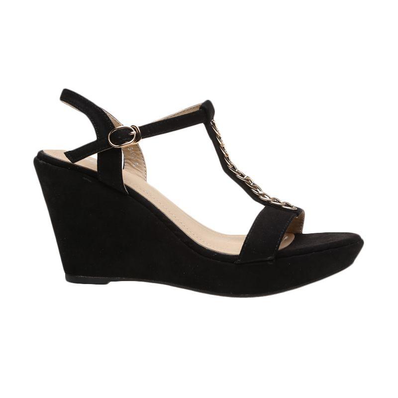 Bata Ladies Treva 761-6490 Black Sepatu Wanita