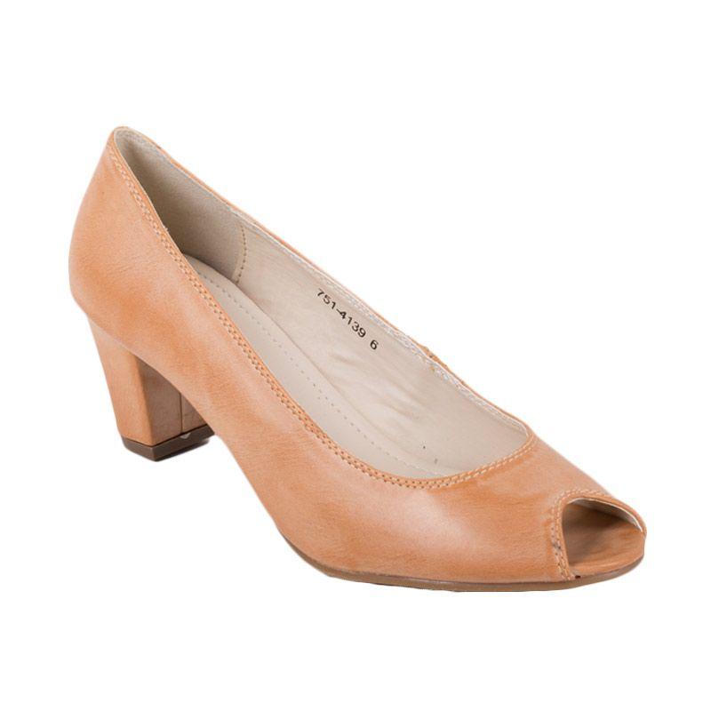 Bata Ladies Ulyana Brown Sepatu Heels