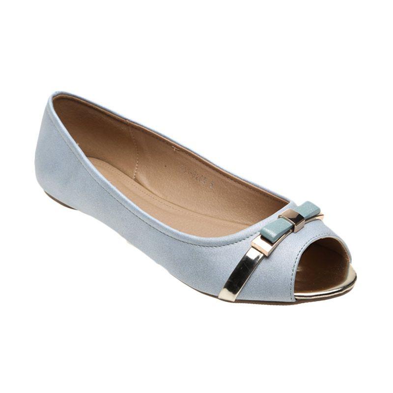 Bata Ladies Undine 551-9265 Blue Sepatu Wanita