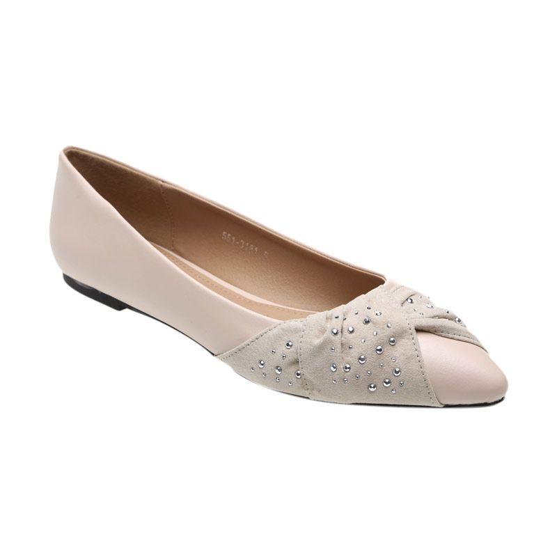 Bata Ladies Unique 551-3181 Beige Sepatu Wanita
